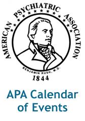 APA Calendar of Events