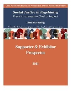 Front Cover Exhibitor Prospectus Psychiatric Update 2021